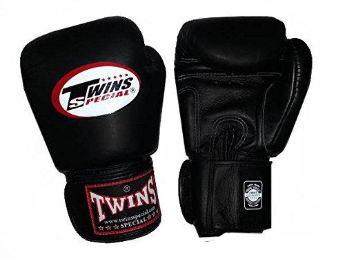 Twins Boxhandschuhe BGVL-3 - Echtleder mit Klettverschluss
