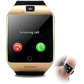 Agkey Smartwatch Unlocked Watch Cell Phone Bluetooth Smart Watch with Camera Handsfree Call for Samsung LG