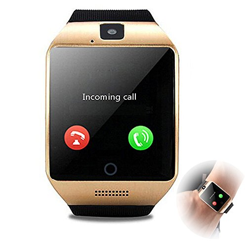 Agkey Smartwatch Unlocked Watch Cell Phone Bluetooth Smart Watch with Camera Handsfree Call for Samsung LG HTC Motorola Huawei BLU Android Smartphones Men Women Boys Girls Birthday