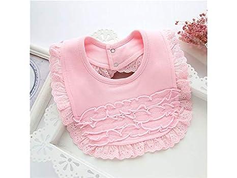 Delantal para niños pequeños Patrón lindo Toddler Baby Saliva Toalla Bib Babero Drool apto para niñas