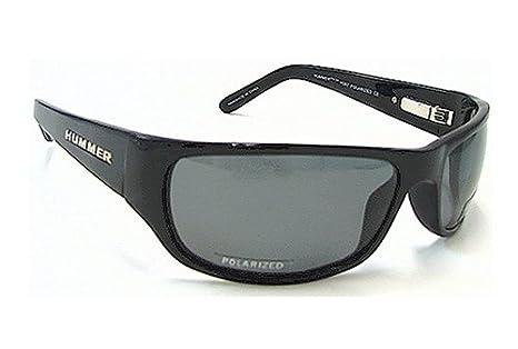 c8842ad7526ac Hummer H387 H-387 Black Frame Polarized Sunglasses  Amazon.co.uk  Clothing