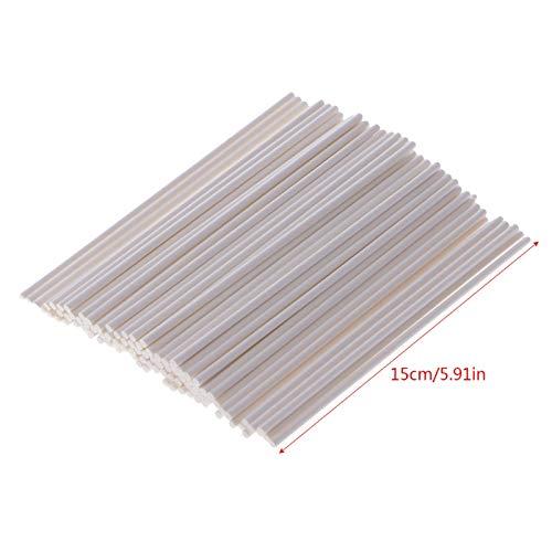 (Forks - 100 Pcs Paper Rods Stick Wooden Candy Lollipop Confectionary Holder 10 15cm Length - Capsule Tableware Lollipop Lollipop Stand Plug Bag K K Cartoon Akira Gift K Holder)