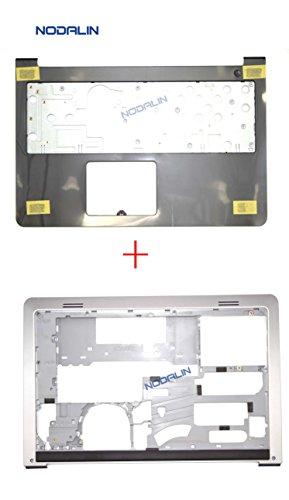 (New For Dell Inspiron 15-5547 5548 5545 Upper Palmrest Keyboard Case & Bottom Base Cover 0K1M13)