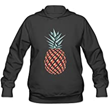 Pineapple Logo Geometric Sharp Style Women's Hooded Sweatshirt