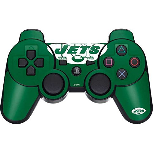 - Skinit New York Jets Retro Logo PS3 Dual Shock Wireless Controller Skin - Officially Licensed NFL Gaming Decal - Ultra Thin, Lightweight Vinyl Decal Protection