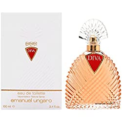 Diva by Emanuel Ungaro for Women. Eau De Toilette Spray 3.4-Ounces