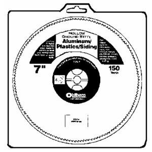 Oldham 700AP 7-Inch 150T Steel Saw Blade for Aluminum and Plastics