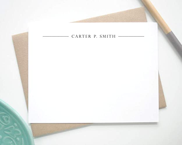 amazon com personalized note cards with envelopes personalized