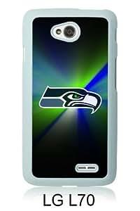 Fashionable LG L70 Case,Seattle Seahawks 25 White Customized Case For LG L70 Case