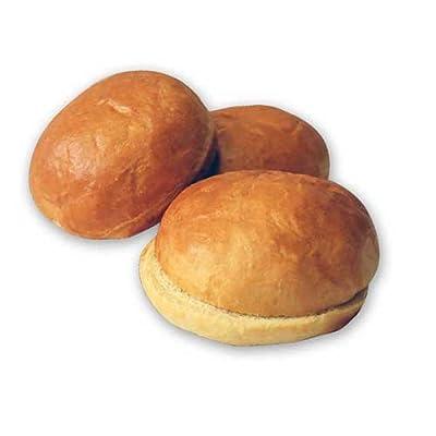 Signature Breads Aloha Warm and Serve Sliced Brioche Bun, 4.25 inch, 3.4 Ounce -- 60 per case.
