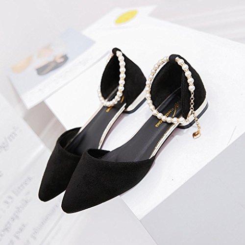 cuentas tobillo de alto Negro moda tacón mujeres del ocasionales sandalias para Sandalias partido de del Sandalias RETUROM las de Mujer 81UFzIHzq