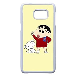 Personalized Durable Cases Crayon Shin chan For Samsung Galaxy Note 5 Edge Cell Phone Case White Toibb Protection Cover