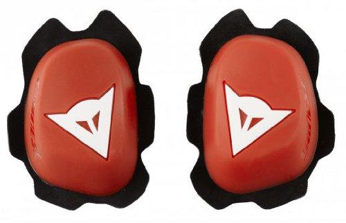 Dainese B60D11 Knee Sliders (RED/WHITE)