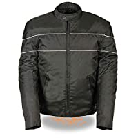 NexGen Men's Nylon Jacket (Black, 4X-Large)