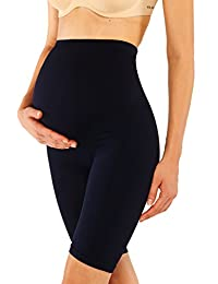 Franato Women Seamless Maternity Shapewear Pettipants Mama Shaper Short