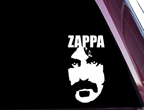 Zappa - High Quality Precision-Cut Vinyl Decal (Not Printed)