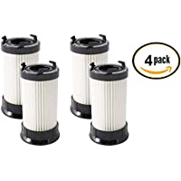 (4 Pack) Eureka DCF-4 and DCF-18 Premium Scented Filters for Eureka 4700, 5500 Series Uprights.