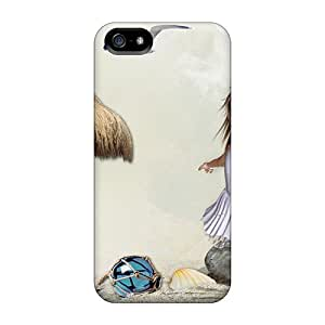 Series Skin Case Cover For Iphone 5/5s(ballerina At The Seashore)