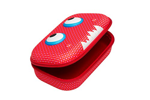 Price comparison product image ZIPIT Beast Box Hard Shell Pencil/Storage Box, Red