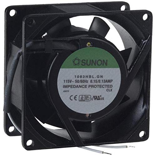FAN AXIAL 80X25.5MM 220/240VAC (Pack of 1) (SF23080AT-2082HSL.GN)