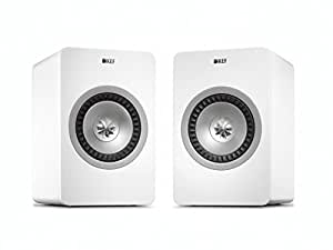 KEF X300A Wireless Digital Hi-Fi Speaker System - Linear White (Pair)