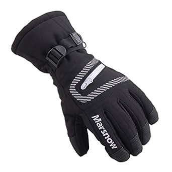 Amazon.com: Guantes de esquí impermeables para hombre y ...