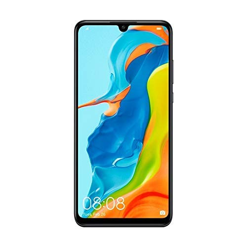 Huawei P30 Lite 128GB Hybrid Dual Sim Unlocked GSM Phone w/ Triple (24MP + 8MP + 2MP) Camera – Midnight Black