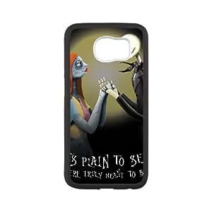 Nightmare Before Christmas Samsung Galaxy S6 Cell Phone Case Black yyfabd-361258