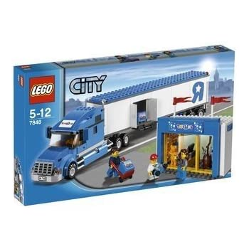 lego city toys r us truck 7848 toys games. Black Bedroom Furniture Sets. Home Design Ideas