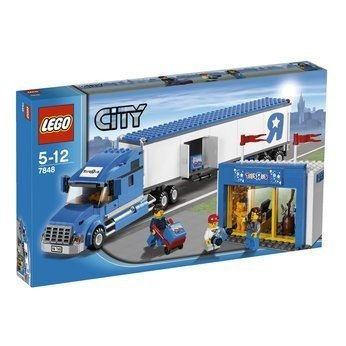 Lego City Toys R Us Truck 7848