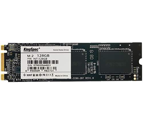 KingSpec 128GB M.2 SSD 2280 SATA III 6 Gb/s 3D NAND NGFF Internal Solid State Drive (NT-128)