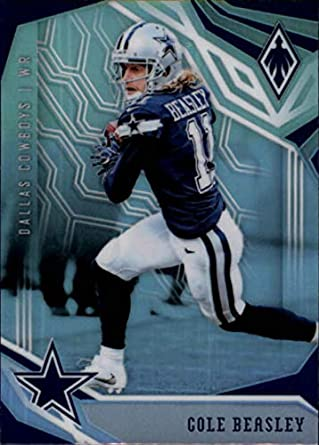 aaa52ec286e 2018 Phoenix NFL #28 Cole Beasley Dallas Cowboys Official Football Card