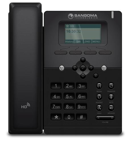 Sangoma s300 VOIP Phone with POE (or AC Adapter sold - Number Spot Phone The
