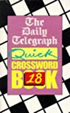 Daily Telegraph Quick Crossword, Daily Telegraph Staff, 0330346415