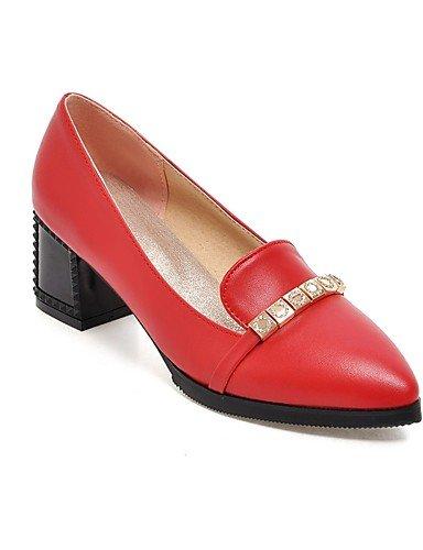 Zapatos Rojo Tacones Puntiagudos beige uk8 5 beige PU y Oficina Tacones us10 beige ZQ mujer us10 Tac¨®n 5 5 Trabajo cn43 cn37 Casual Negro uk8 de 5 5 Robusto uk4 cn43 eu37 7 5 Beige 5 eu42 us6 eu42 dnaWx116c