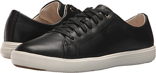 Cole Haan Kvinna Grand Crosscourt Sneaker Svart Läder / Vit