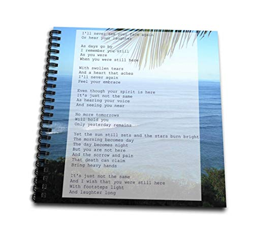 - 3dRose db_32551_2 Grief Poem Death Sympathy Loss Poetry-Memory Book, 12 by 12-Inch