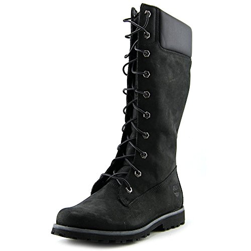 Timberland Asphalt Trail Classic Tall Youth US 7 Black Mid Calf Boot by Timberland