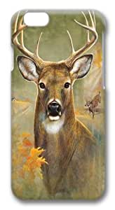 Buck Polycarbonate Hard Case Cover for iphone 6 plus 5.5 inch 3D