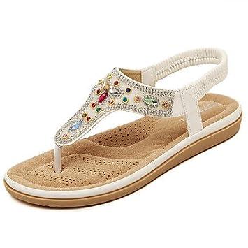 matériaux de haute qualité jolie et colorée magasiner pour authentique YFF Sandales femmes Printemps Été Automne Semelles confort ...