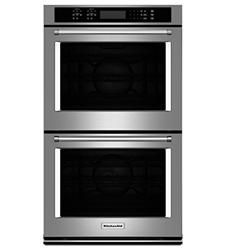 "Kitchenaid 27"" Double Wall Oven With Even-heat True Convection -..."