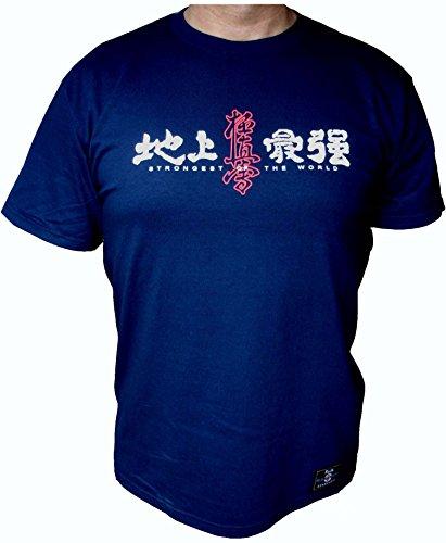 T-shirt kyokushin karate kanji kanku 5 colours