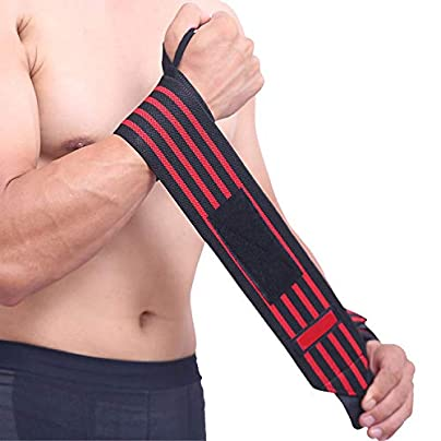 1Pcs Wrist Support Straps Wraps For Weight Lifting Fitness Gym Sport Wristbands Estimated Price £8.29 -