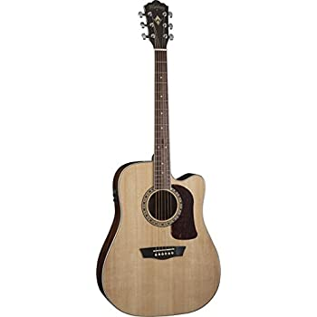 washburn heritage series hd10sce acoustic electric cutaway dreadnought guitar. Black Bedroom Furniture Sets. Home Design Ideas