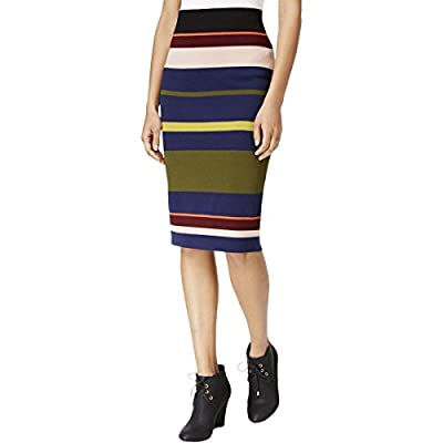 RACHEL Rachel Roy Women's Striped Midi Skirt