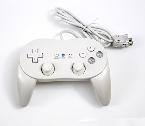c Pro Controller for Wii and WiiU White (Super Mario Brothers Snes)