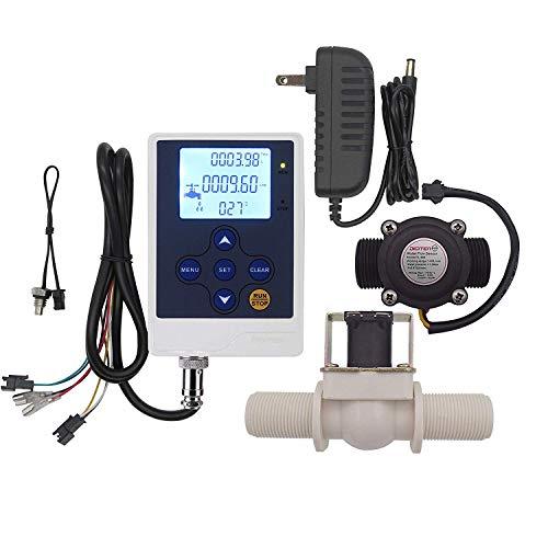 DIGITEN Water Flow Control Meter LCD Display Controller+G3/4