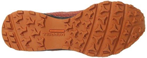 Merrell Mens All Out Scia Traccia Corridore Arancione