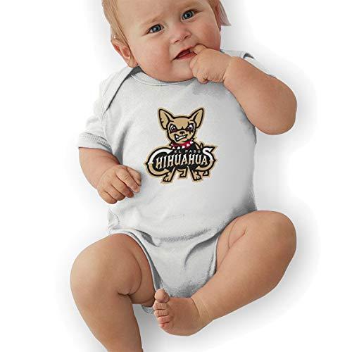 Waterhake Bodysuit Baby, El Paso Chihuahuas Organic Baby Toddler Bodysuit Baby Clothes White