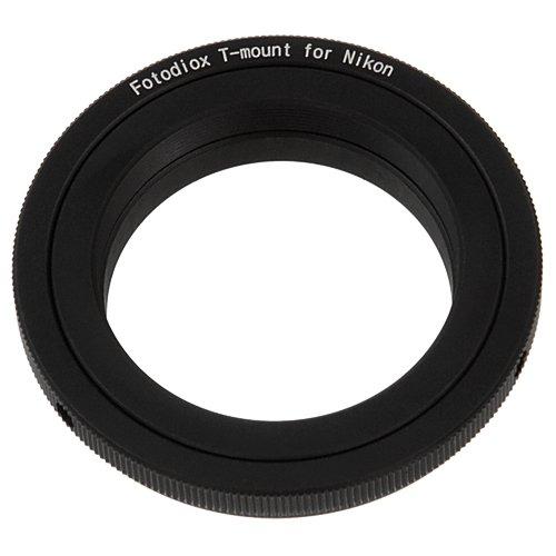 Fotodiox Lens Mount Adapter - T-Mount (T / T-2) Screw Mount SLR Lens to Nikon F Mount SLR